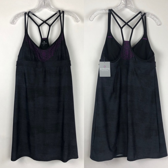 Athleta Other - Athleta | Printed Coastline Strappy Swim Dress